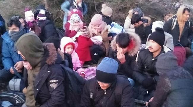 521 kaçak göçmen yakalandı