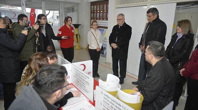 Belediye personelinden anlamlı bağış