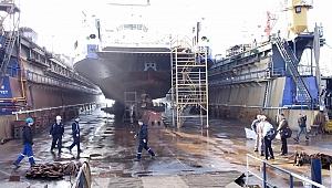 GESTAŞ'ın 5 gemisi bakımda
