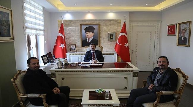 Hedef Gazetesi'nden Vali Tavlı'ya ziyaret