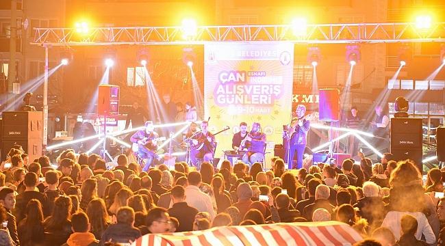 Çan'da muhteşem konser