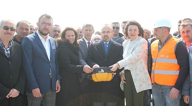 Umurbey'de yatırımlar sürüyor