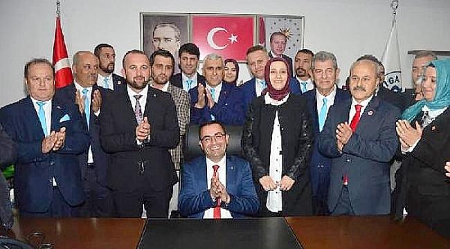 Bülent Erdoğan görevi devraldı