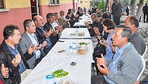 AK Parti heyeti Saraycık Köyü'ndeydi
