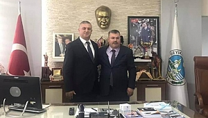 Çalışkan'dan Oruçoğlu'na tebrik ziyareti