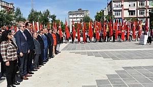 Çanakkale'de 19 Mayıs coşkusu
