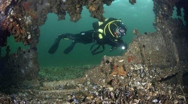 Çanakkale'de 60'dan fazla batık dalış turizmine açıldı