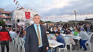 Geyikli Belediyesi'nden dev iftar