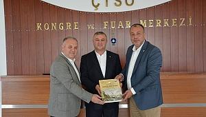 Oruçoğlu'ndan ÇTSO'ya iade-i ziyaret