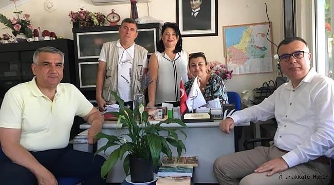 Başkan Arslan'dan muhtarlara ziyaret