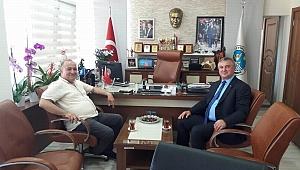 Gider'den Oruçoğlu'na tebrik ziyareti