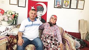 Oruçoğlu'ndan Şehit annesine ziyaret