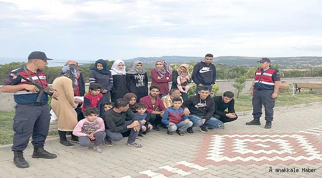 78 kaçak göçmen yakalandı