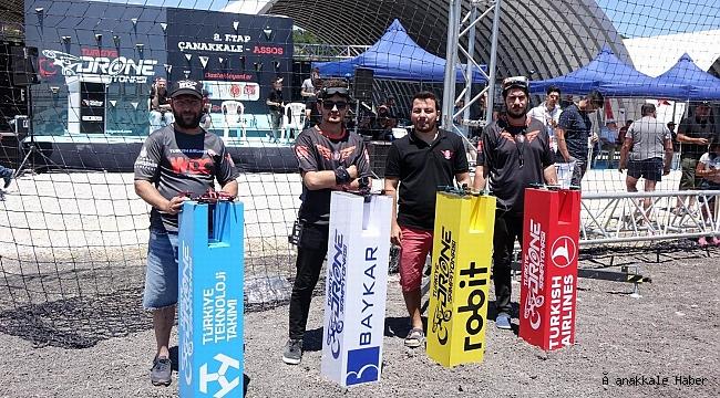 Çanakkale'de Drone Şampiyonası