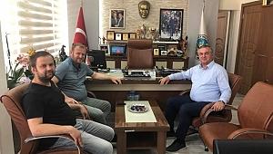 Daniş'ten Oruçoğlu'na tebrik ziyareti
