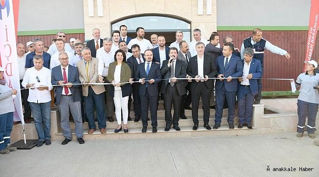 İÇDAŞ Tohum Bankası açıldı