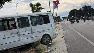 Trafik kazası; 17 yaralı