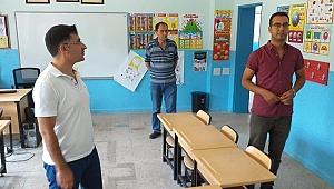 Müdür Etik okulları dolaşıyor