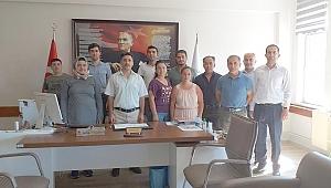 Müdür Etik personelin bayramını kutladı