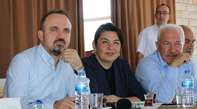 AK Partili Başkanlardan destek