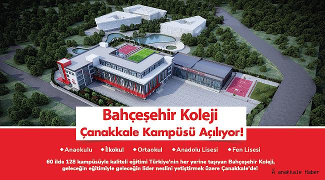 Bahçeşehir Koleji Çanakkale'de