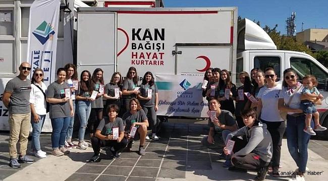 Çanakkale Koleji öğrencilerinden anlamlı çalışma