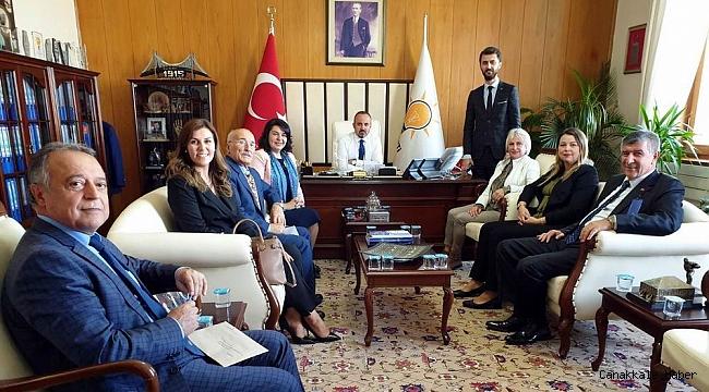 AK Partili Meclis Üyeleri'nden Ankara'ya çıkarma