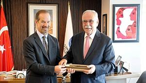 Arjantin Başkonsolosu Rivera'dan Başkan Gökhan'a ziyaret