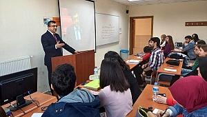 Başkan Öz'den öğrencilere ders