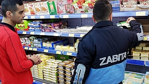 Çan'da marketlere gıda kontrolü