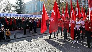 Çanakkale'de Cumhuriyet Bayramı coşkusu