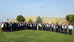 Çanakkale protokolü Mehmetçiğe selam gönderdi