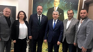 ÇTSO Yönetimi'nden Karaduman'a ziyaret