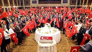 Cumhuriyet Bayramı Kabul Töreni'ne yoğun ilgi