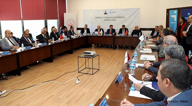 Dardanel Tesisleri'nde istihdam toplantısı