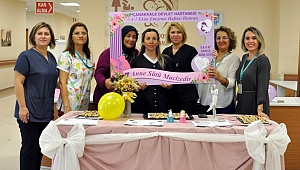 Devlet Hastanesi'nde Dünya Emzirme Haftası etkinliği