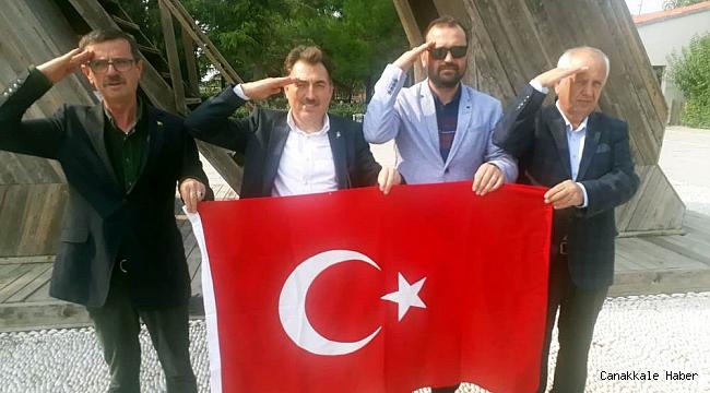 TROİA'dan Mehmetçik'e selam yolladılar