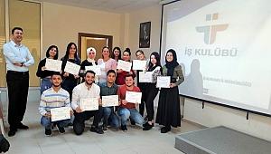 Üniversite öğrencilerine İş Kulübü eğitimi