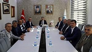 Ziraat Odaları Başkanları'ndan Vali Tavlı'ya ziyaret