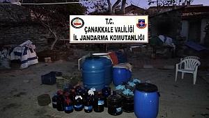7540 litre şarap ele geçirildi