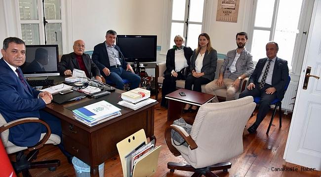 AK Partili Meclis Üyelerinden Dokuz'a nezaket ziyareti
