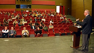 Başkan Gökhan, 17 yıllık tecrübelerini paylaştı
