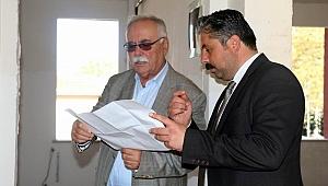 Başkan Gökhan Bayramiç'teydi