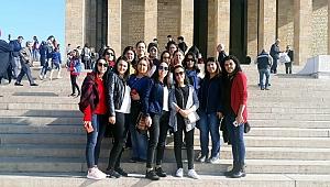 Bayramiçli gençler Anıtkabir'de