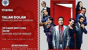 Biga'da tiyatro gösterisi