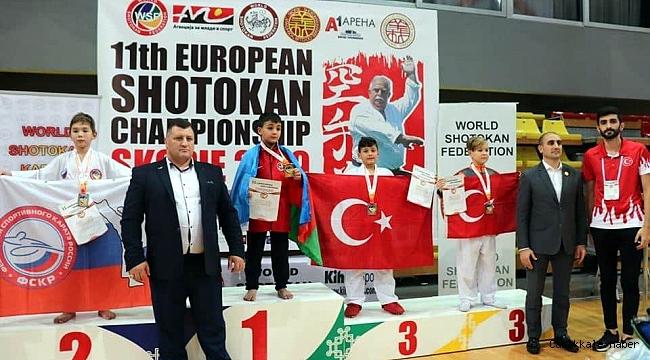 Çan Belediyesi Karate Kulübü ödüllerle döndü
