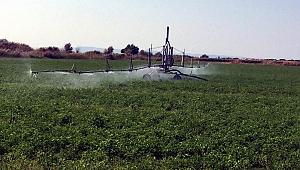 Çanakkale'de 265.550 dekar tarım arazisi sulandı