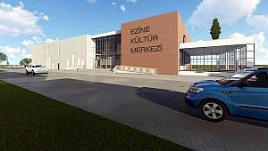 Ezine Kültür Merkezi ihalesi feshedildi