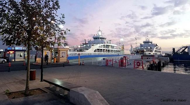 Gelibolu feribot iskelesi yenilendi