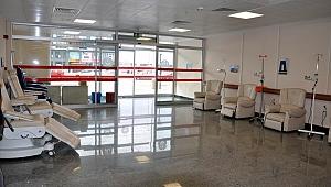 Kemoterapi Ünitesi yeni yerinde hizmet veriyor